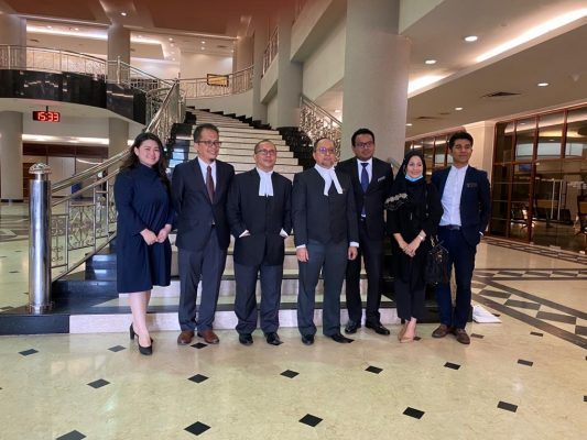 The original prosecution team reunited on Kevin Morais' judgment day