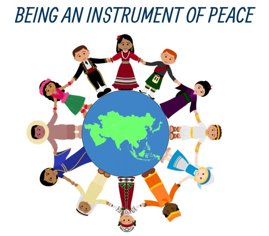 Being an instrument of peace
